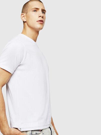 Diesel - T-DIAMANTIK-NEW, Blanc - T-Shirts - Image 4