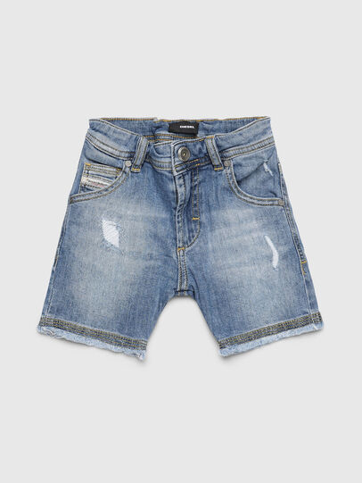Diesel - PROOLYB-A-N, Bleu Clair - Shorts - Image 1