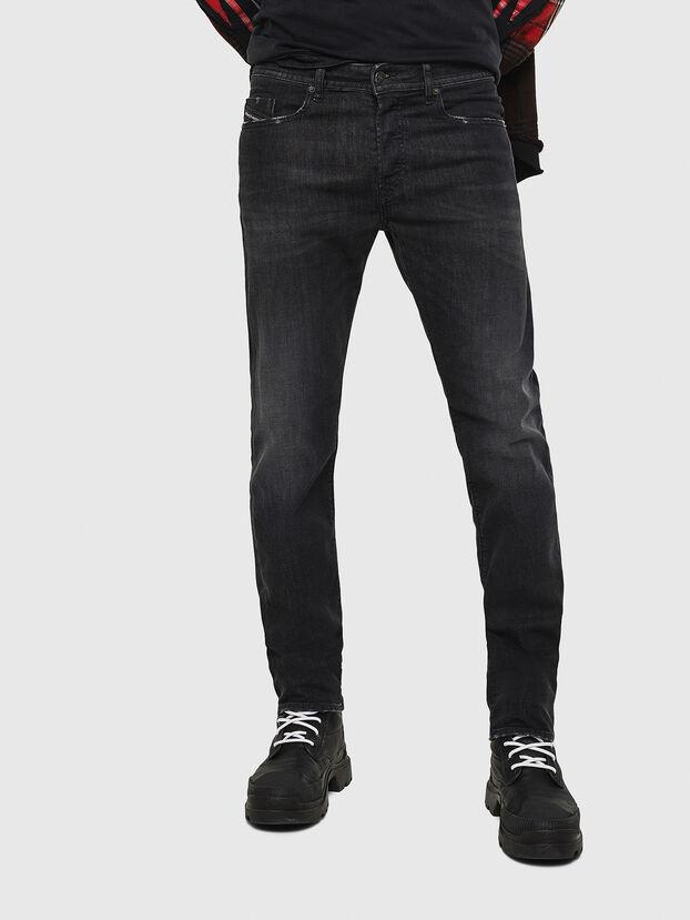 Buster 082AS, Noir/Gris foncé - Jeans