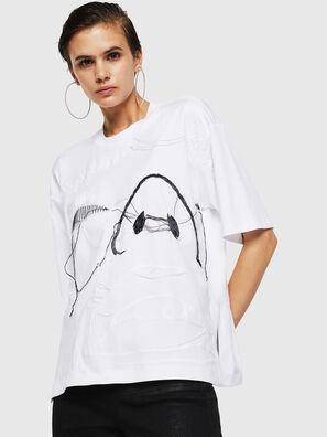 TELIX, Blanc - T-Shirts