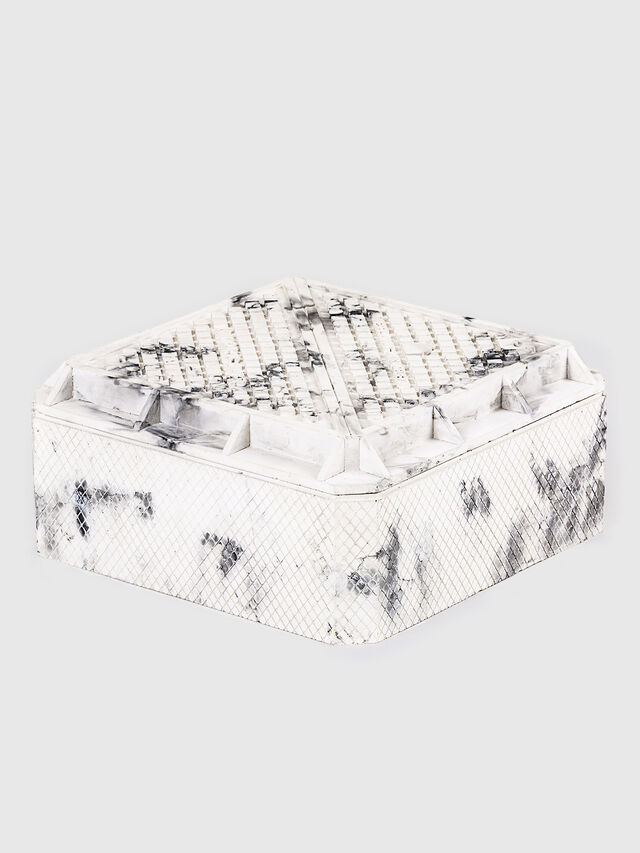 Diesel - 11070  WORK IS OVER, Blanc - Accessoires de Maison - Image 2