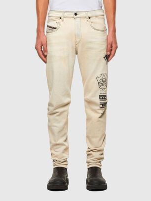 D-Strukt 009KV, Blanc - Jeans