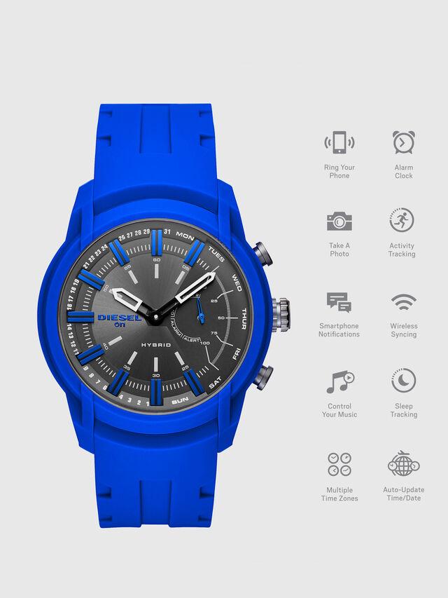 Diesel - DT1017, Bleu Brillant - Smartwatches - Image 1