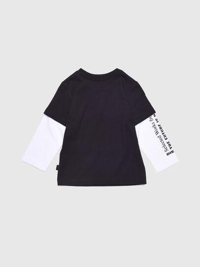 Diesel - TANCEB, Noir/Blanc - T-shirts et Hauts - Image 2