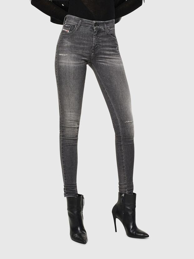 Slandy 083AJ, Noir/Gris foncé - Jeans