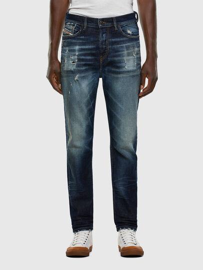 Diesel - D-Vider 0092I, Bleu Foncé - Jeans - Image 1