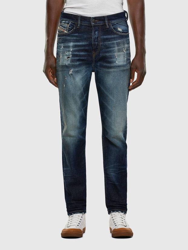 D-Vider 0092I, Bleu Foncé - Jeans