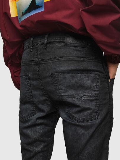 Diesel - Krooley JoggJeans 069GP, Noir/Gris foncé - Jeans - Image 5
