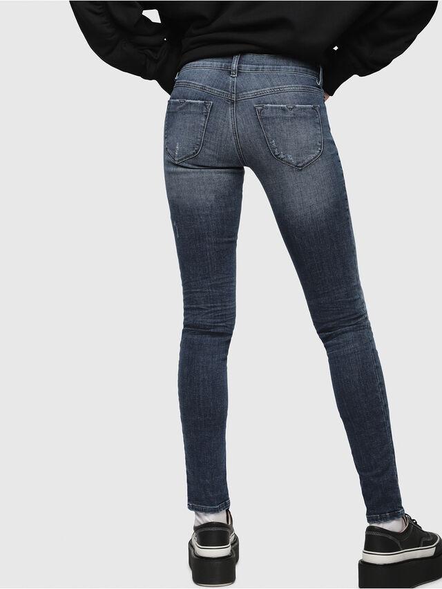 Diesel Livier 0687L, Bleu moyen - Jeans - Image 2