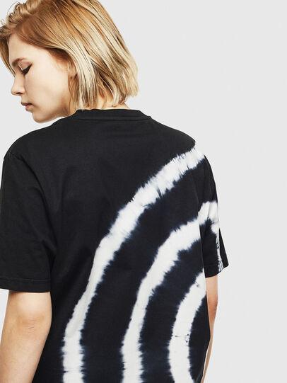 Diesel - T-JUST-T16, Noir/Blanc - T-Shirts - Image 4