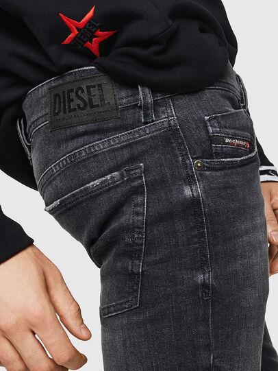 Diesel - Sleenker 084AT, Noir/Gris foncé - Jeans - Image 5