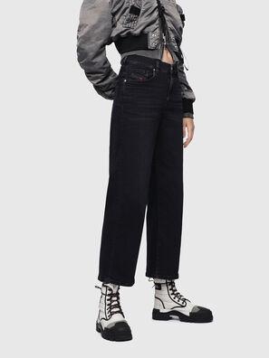 Widee 084HQ, Noir/Gris foncé - Jeans
