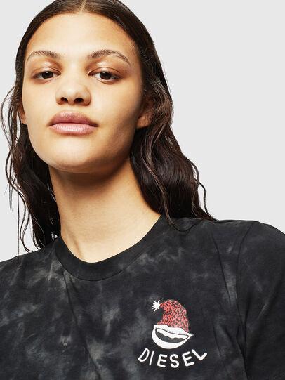 Diesel - UFTEE-ROUNDIE, Noir - T-Shirts - Image 3