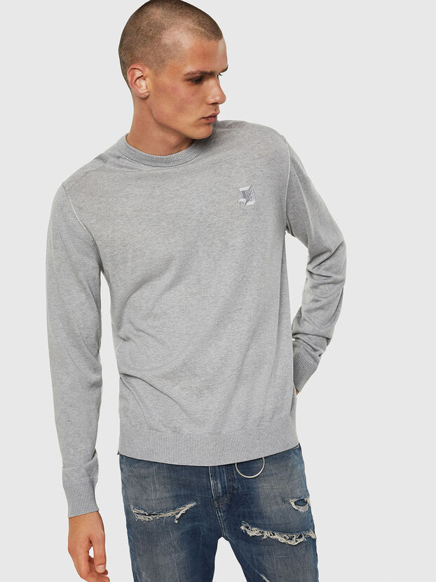K-JOEY, Gris Clair - Pull Maille