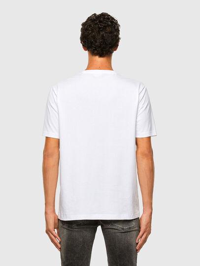Diesel - T-JUST-X65, Blanc - T-Shirts - Image 5