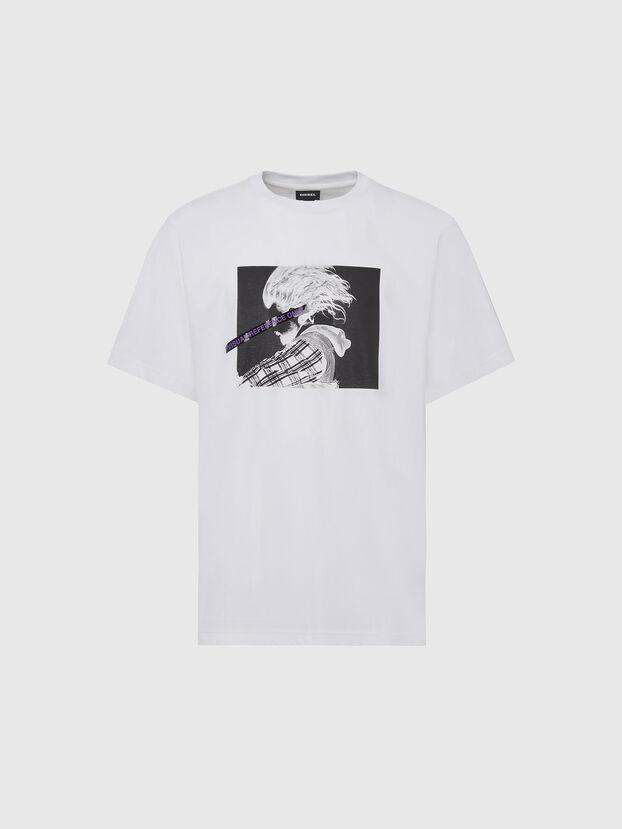 T-TUBOLAR-X20, Blanc - T-Shirts