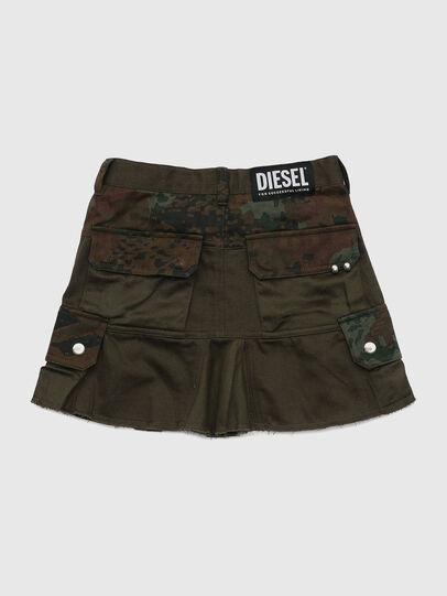 Diesel - GAMATA, Vert Camouflage - Jupes - Image 2