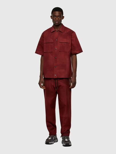 Diesel - S-GUNN-TIE, Rouge - Chemises - Image 5