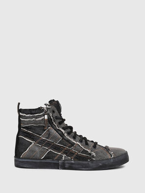 D-VELOWS MID LACE, Jean Gris - Baskets