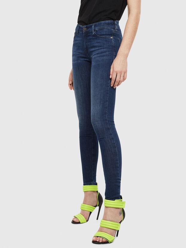 Slandy 069JP, Bleu Foncé - Jeans