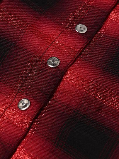 Diesel - CSUNNYA, Rouge/Noir - Chemises - Image 3