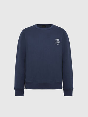UMLT-WILLY, Bleu Marine - Pull Cotton