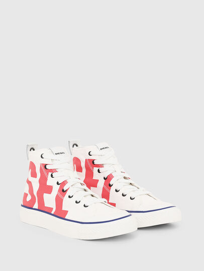 Diesel - S-ASTICO MC W, Blanc/Rouge - Baskets - Image 2