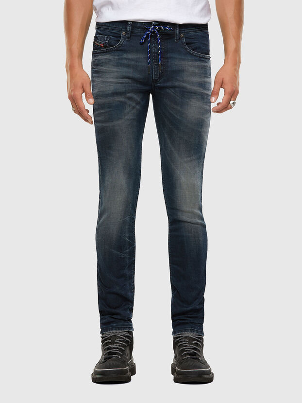 Thommer JoggJeans 069NT, Bleu Foncé - Jeans