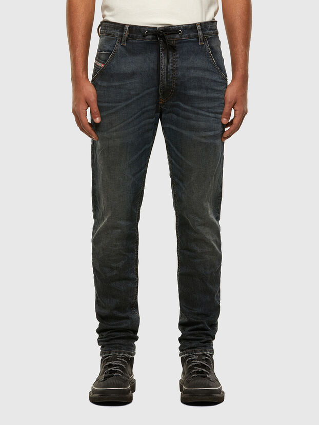 Krooley JoggJeans 069NS, Bleu Foncé - Jeans