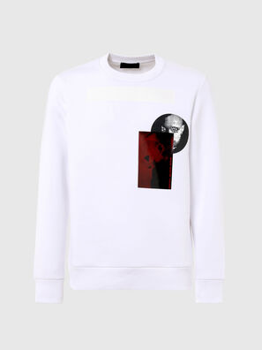 S-ARGON-A, Blanc - Pull Cotton