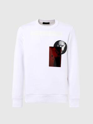 S-ARGON-A, Blanc - Pull Cotton