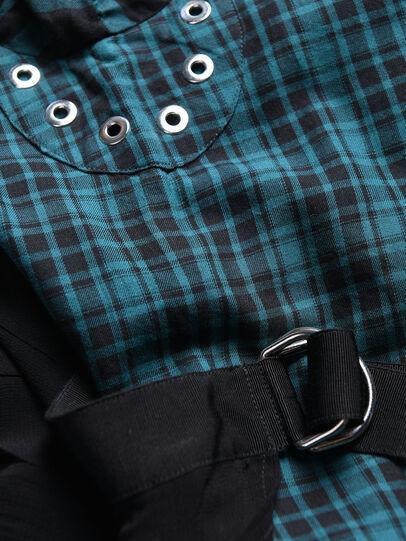Diesel - DBAGGY, Vert/Noir - Robes - Image 3