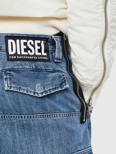 Diesel - D-Luks 009CL, Bleu Clair - Jeans - Image 7