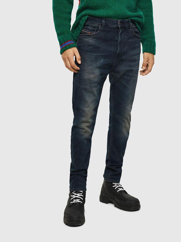 D-Vider 084AU, Bleu Foncé - Jeans