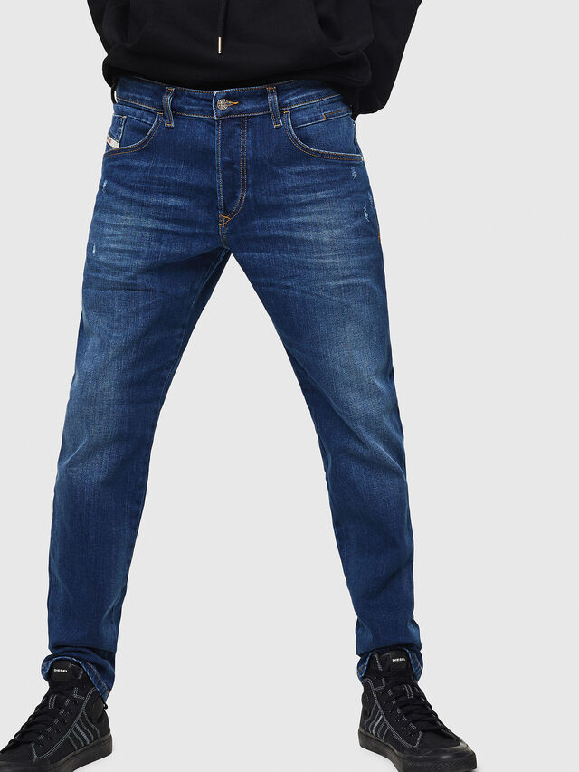 Diesel - D-Bazer 083AZ, Bleu moyen - Jeans - Image 1