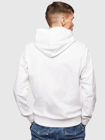 Diesel - S-GIRK-HOOD-S1, Blanc - Pull Cotton - Image 3