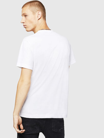 Diesel - T-DIEGO-B16, Blanc - T-Shirts - Image 2