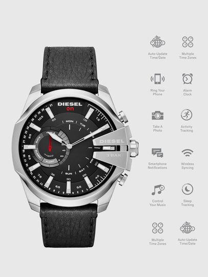 Diesel - DT1010, Noir - Smartwatches - Image 1