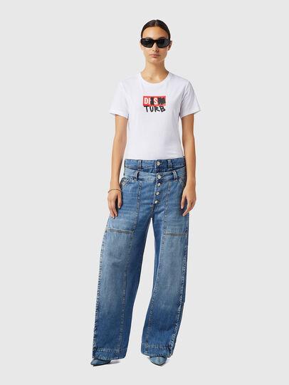 Diesel - D-Laly 0AFAM, Bleu moyen - Jeans - Image 5