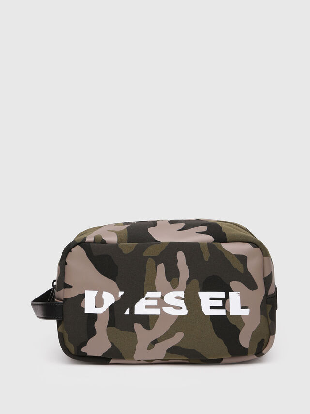 Diesel - POUCHH, Vert Camouflage - Bijoux et Gadgets - Image 1