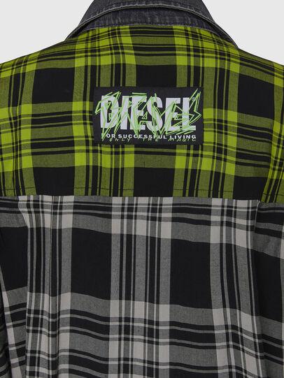 Diesel - D-NIAVY, Noir/Blanc - Robes - Image 6