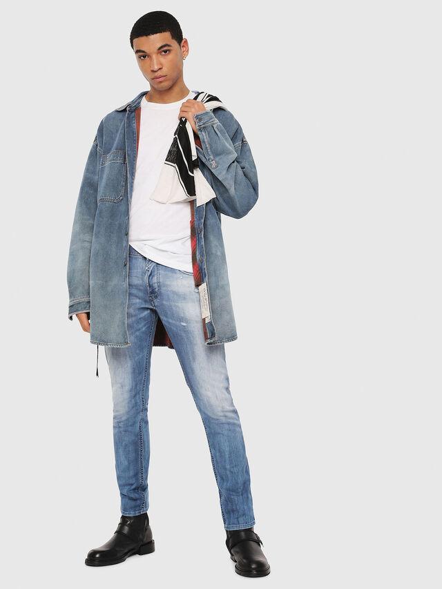 Diesel - Thommer 081AS, Bleu moyen - Jeans - Image 5