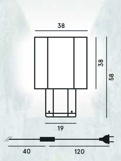 Diesel - HEXX TAVOLO, Anthracite - Éclairages De Table - Image 2