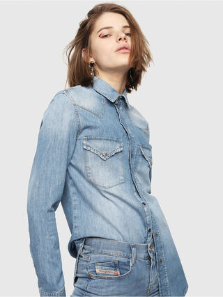 DE-RINGY,  - Chemises en Denim