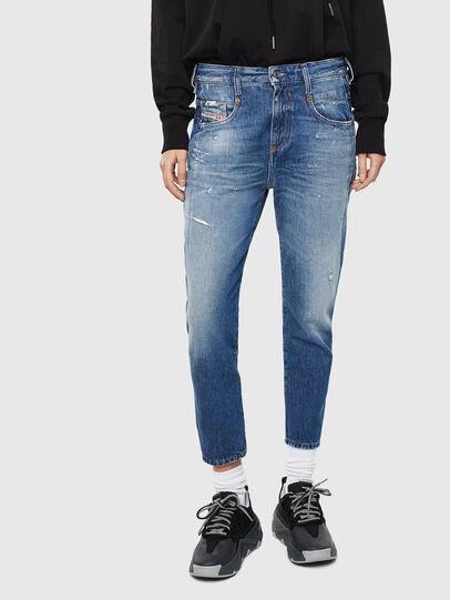 Diesel - Fayza 0097B, Bleu moyen - Jeans - Image 1