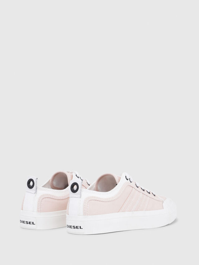Diesel - S-ASTICO LOW LACE W, Rose/Blanc - Baskets - Image 3