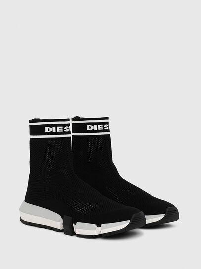 Diesel - H-PADOLA NET W, Noir - Sneaker - Image 2
