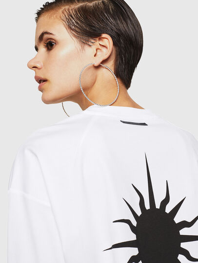 Diesel - TELIX-A, Blanc - T-Shirts - Image 3