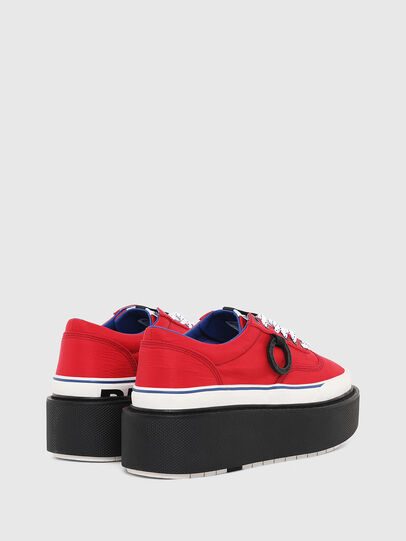 Diesel - H-SCIROCCO LOW, Rouge Flamme - Baskets - Image 3