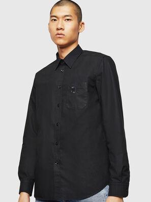 S-MOI-R-BW, Noir - Chemises